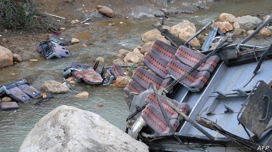 صورة للحادثة