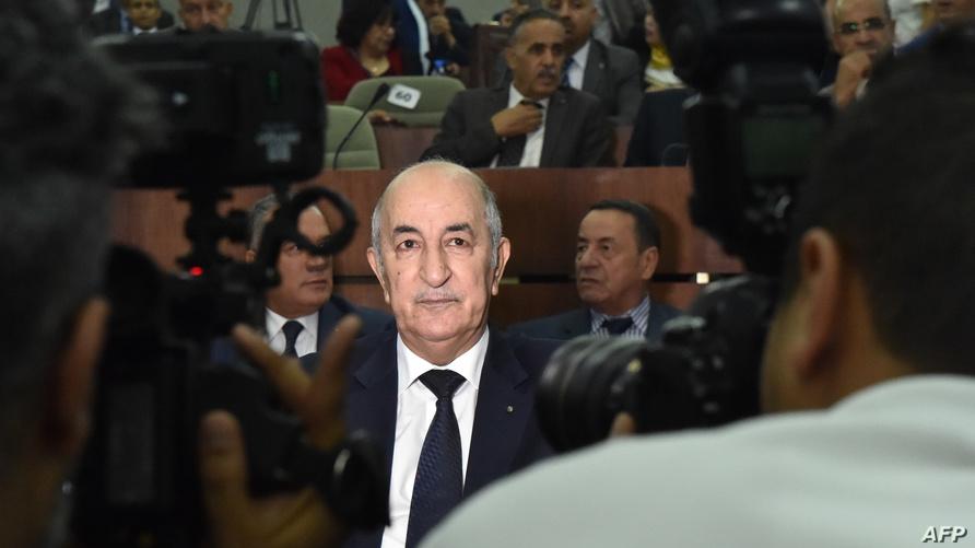 الوزير الأول الجزائري عبد المجيد تبون