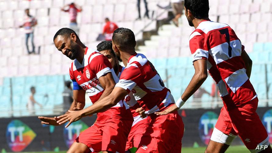 لاعبو النادي الأفريقي التونسي