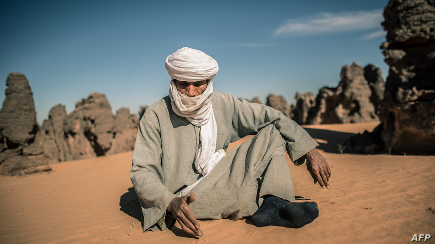 رجل من طوارق ليبيا