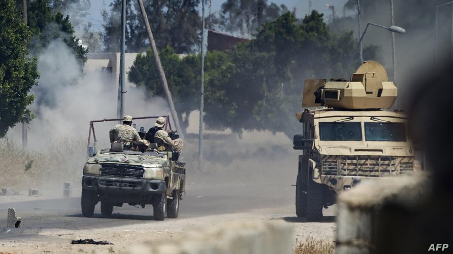من اشتباكات طرابلس
