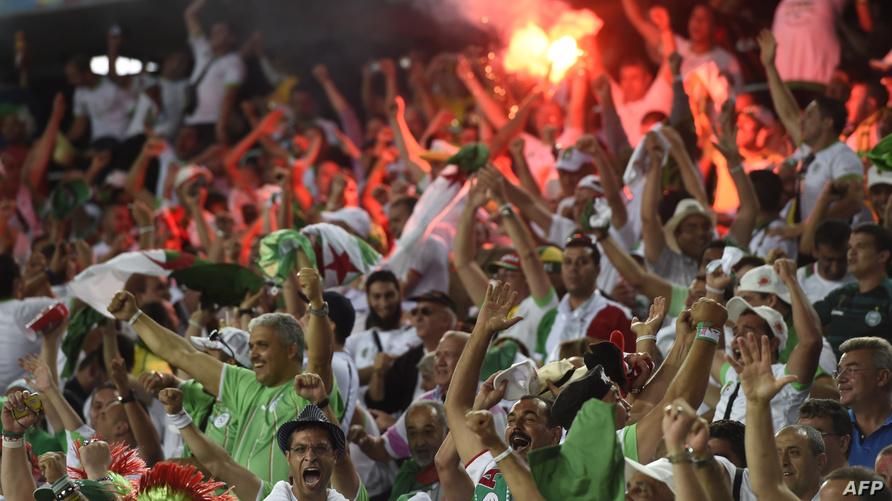 مناصرو المنتخب الجزائري