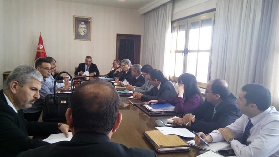 جلسة التفاوض بين الجامعة العامة للتعليم الأساسي ووفد ممثل لوزارة التربية (أرشيف)