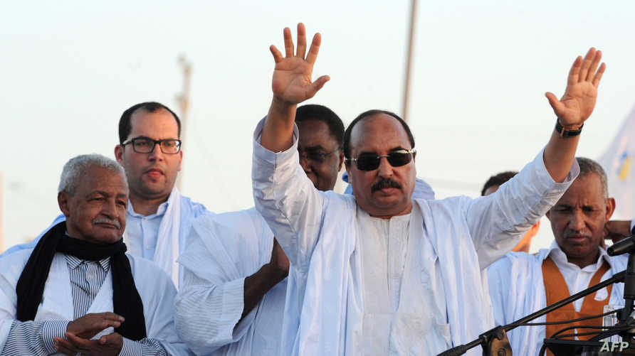 الرئيس الموريتاني محمد ولد عبد العزيز - أرشيف
