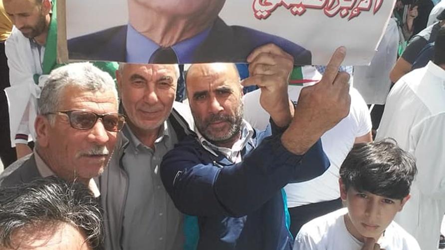 جانب من الحراك الشعبي بالجزائر