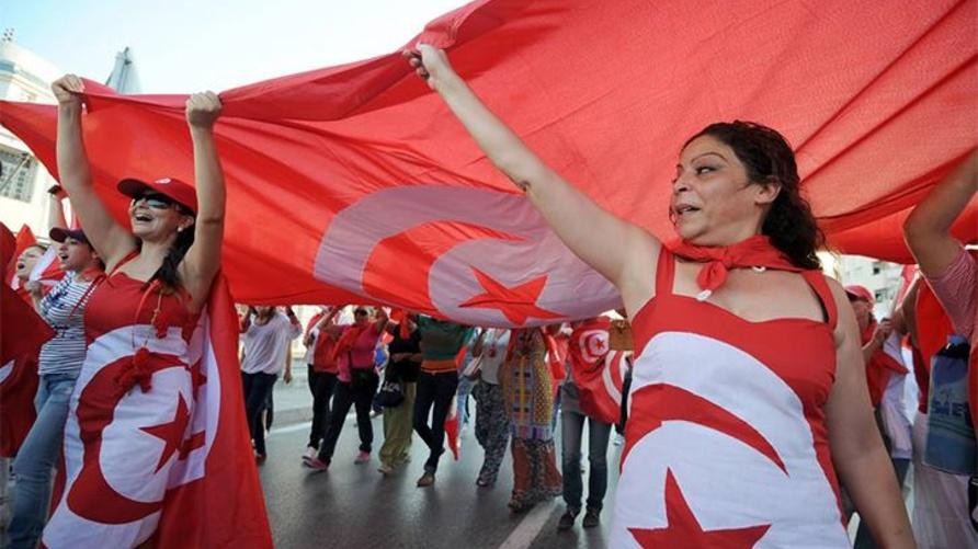 تونسيات في مظاهرة سابقة (أرشيف)