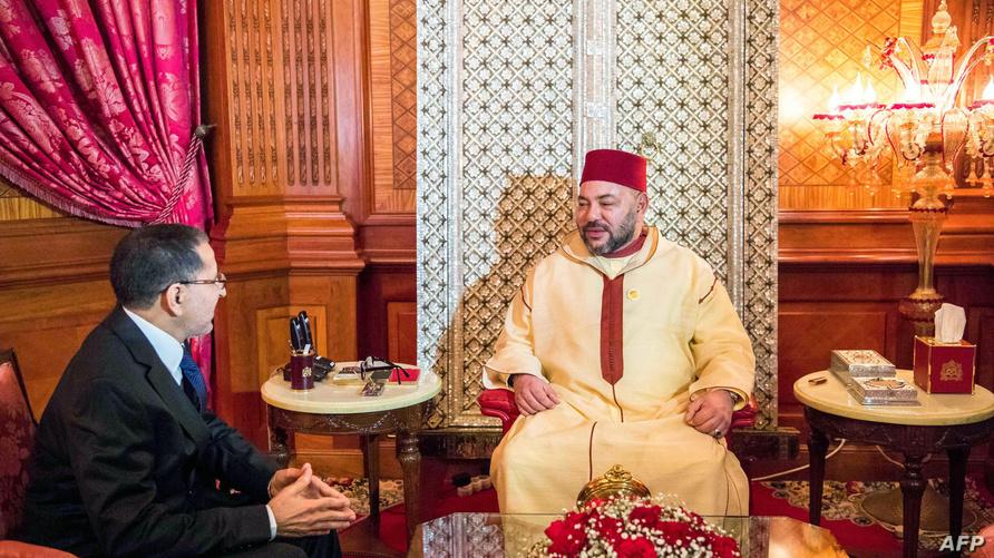 الملك محمد السادس يستقبل رئيس الحكومة سعد الدين العثماني