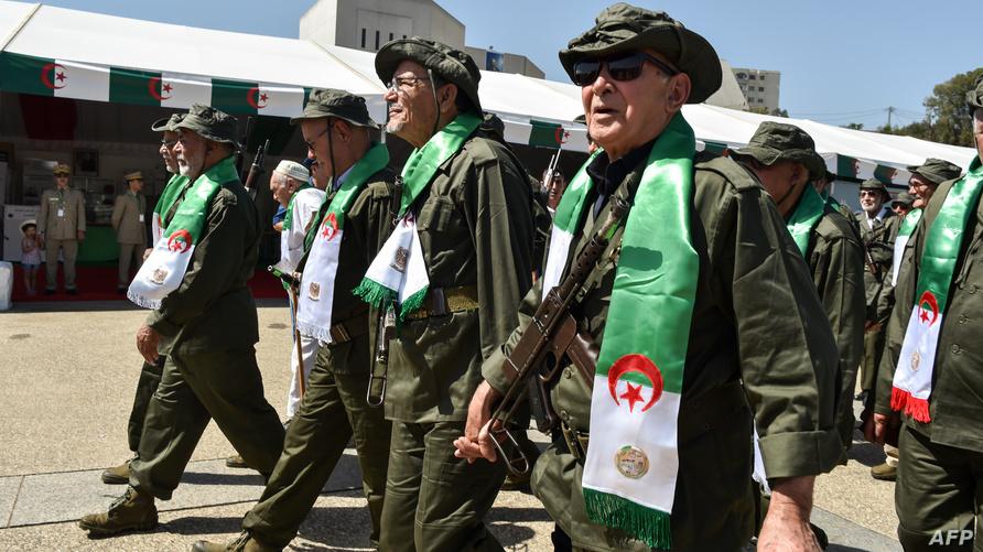 جنود سابقون بـ'جيش التحرير الوطني' بالجزائر