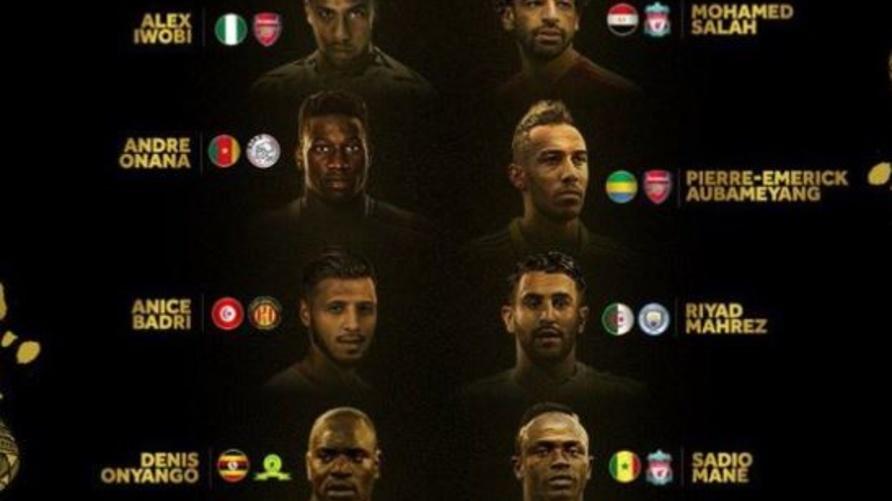 المرشحون للقب أفضل لاعب أفريقي لـ 2018