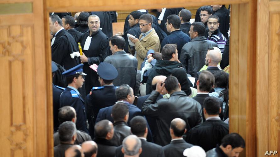 داخل قاعة محكمة مغربية
