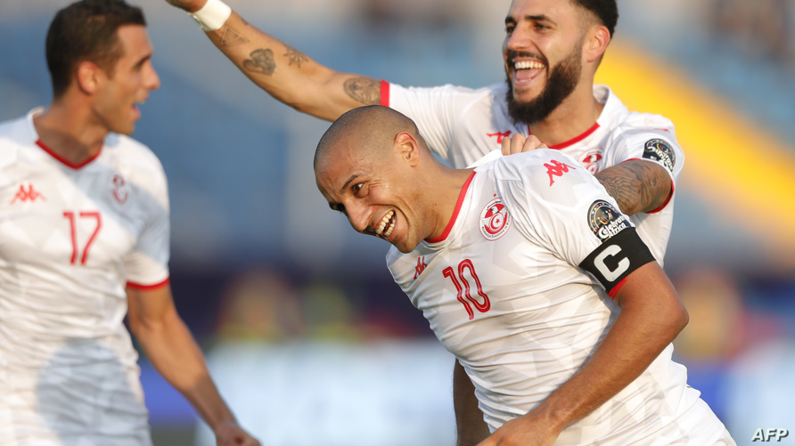 لقطة من مباراة تونس ومالي