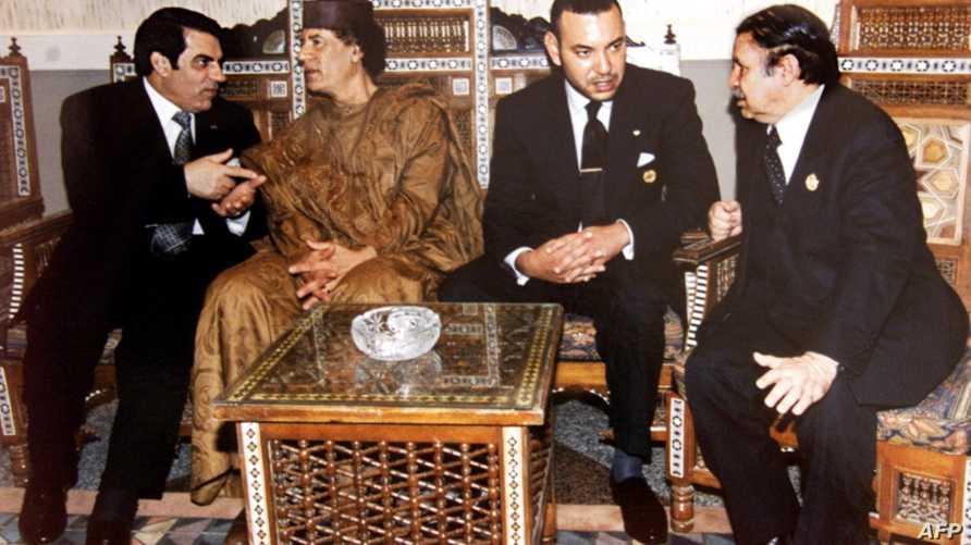 صورة جماعية لقادة مغاربيين