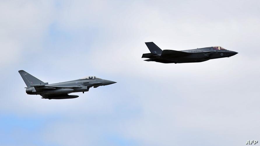 مقاتلتان من طراز أف-35