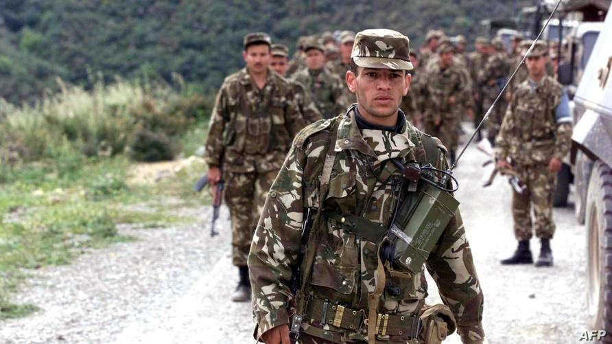 وحدات من الجيش الجزائري