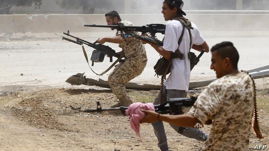 جانب من اشتباكات طرابلس