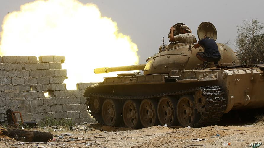 خلال اشتباكات طرابلس