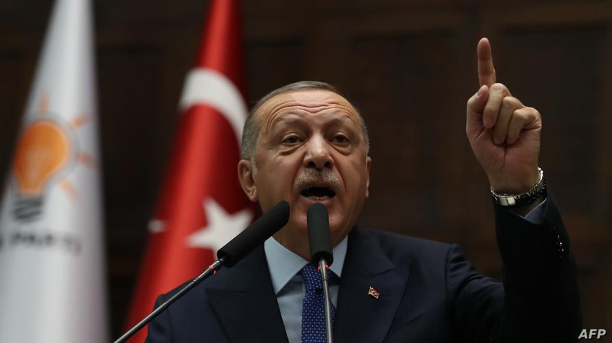 الرئيس التركي رجب طيب أردوغان، 16 أكتوبر 2019