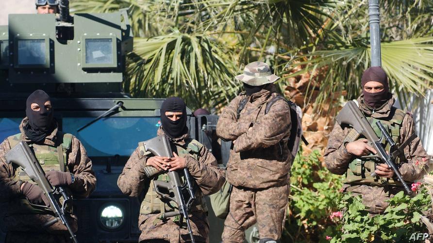 عناصر من الأمن التونسي في ولاية القصرين_أرشيف