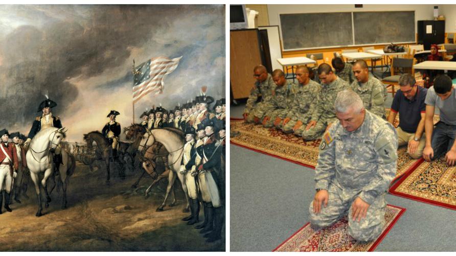 وجود المسلمين في الجيش الأميركي يعود إلى أيام حرب الاستقلال