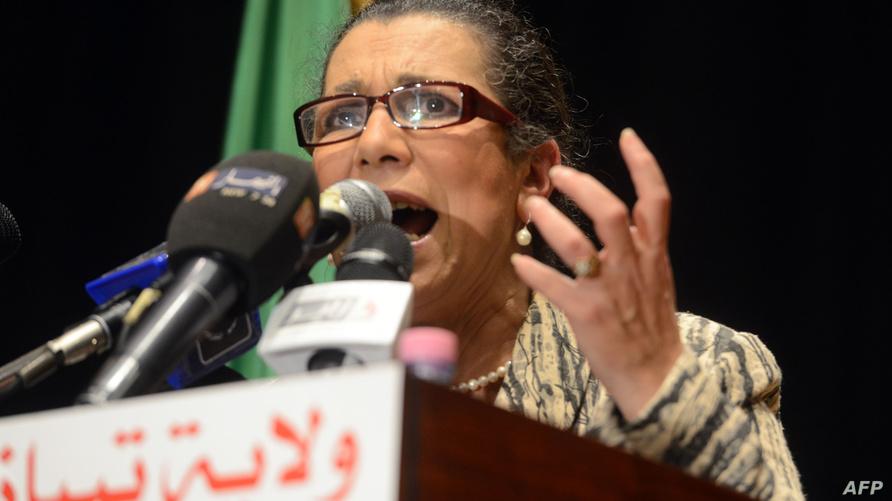 زعيمة حزب العمال الجزائري، لويزة حنون