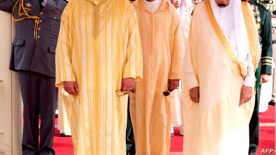 الملك محمد السادس والملك سلمان بن عبد العزيز