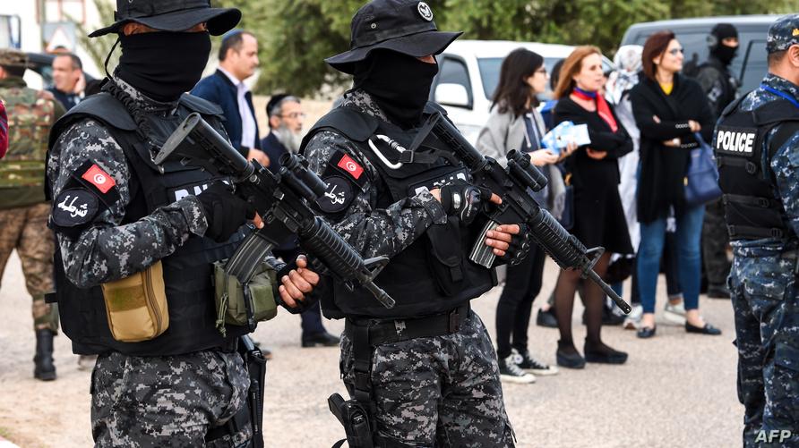 عناصر من القوات التونسية الخاصة