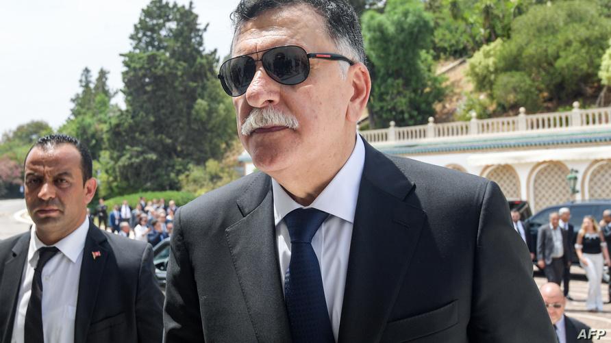 رئيس حكومة الوفاق الوطني فايز السراج