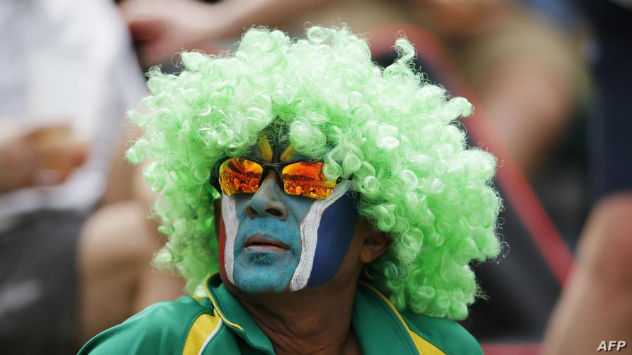 مشجع جنوب أفريقي (أرشيف)