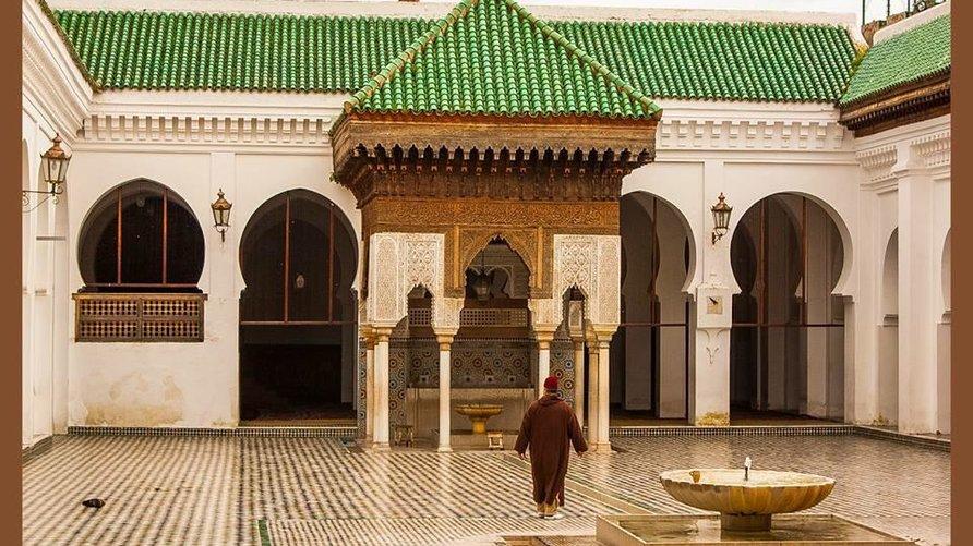 جامع القرويين بمدينة فاس - المغرب