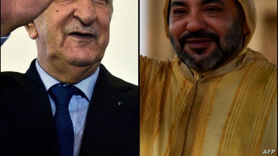 محمد السادس وعبد المجيد تبون - صورة مركبة