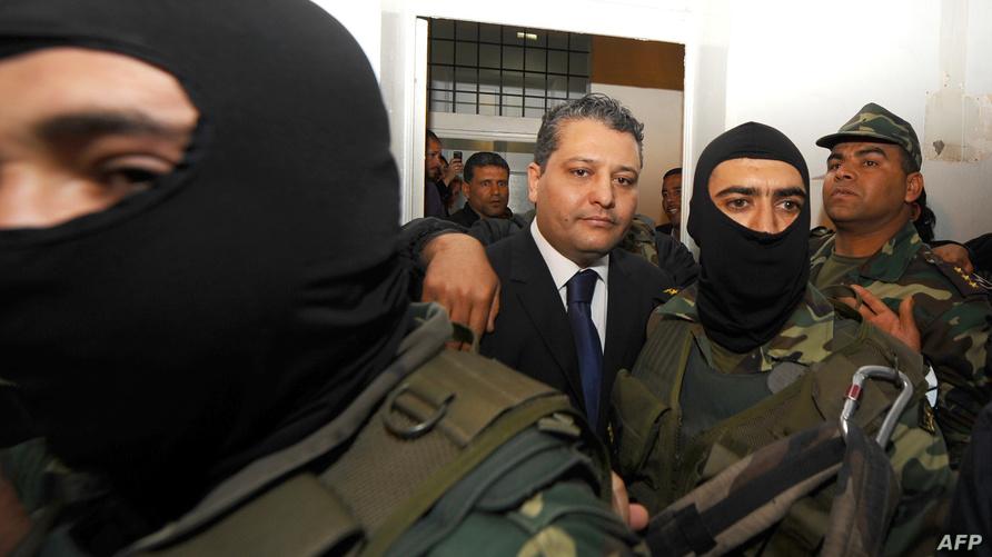 عماد الطرابلسي ابن شقيق ليلى الطرابلسي زوجة الرئيس التونسي المخلوع