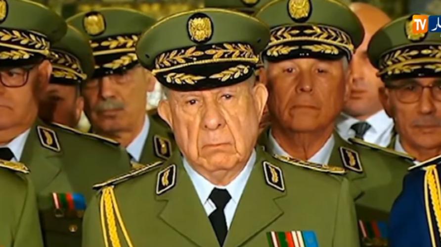 قائد أركان الجيش الجزائري بالنيابة، السعيد شنقريحة