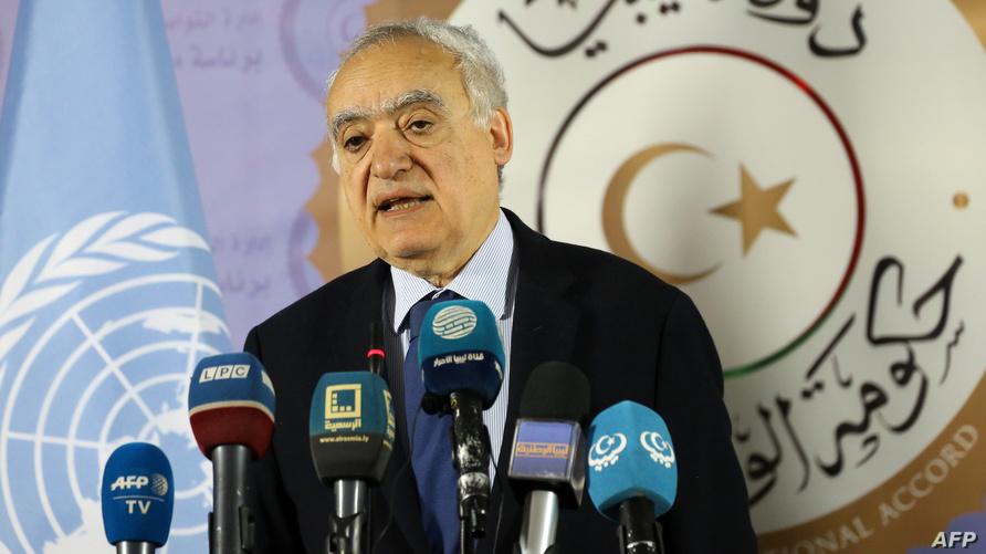 غسان سلامة رئيس بعثة الأمم المتحدة إلى ليبيا
