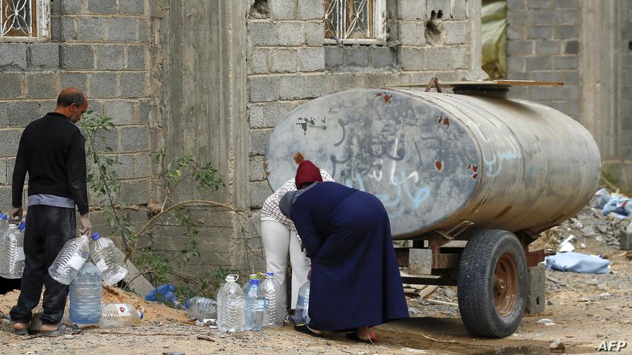نازحون ليبيون في طرابلس