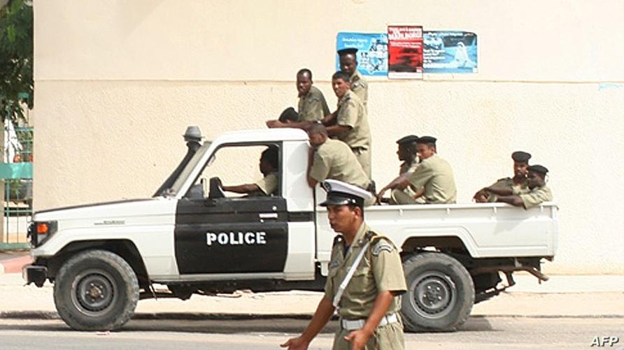 عناصر من الشرطة الموريتانية (أرشيف)