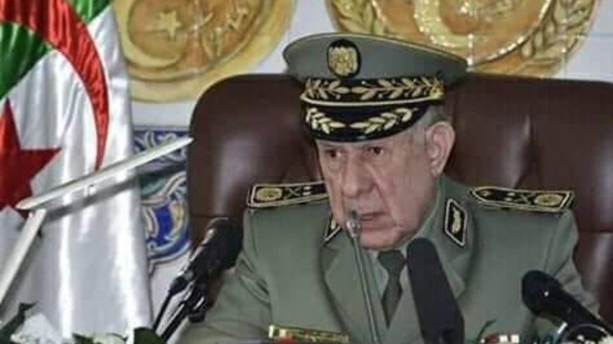 رئيس أركان الجيش الجزائري بالنيابة السعيد شنقريحة