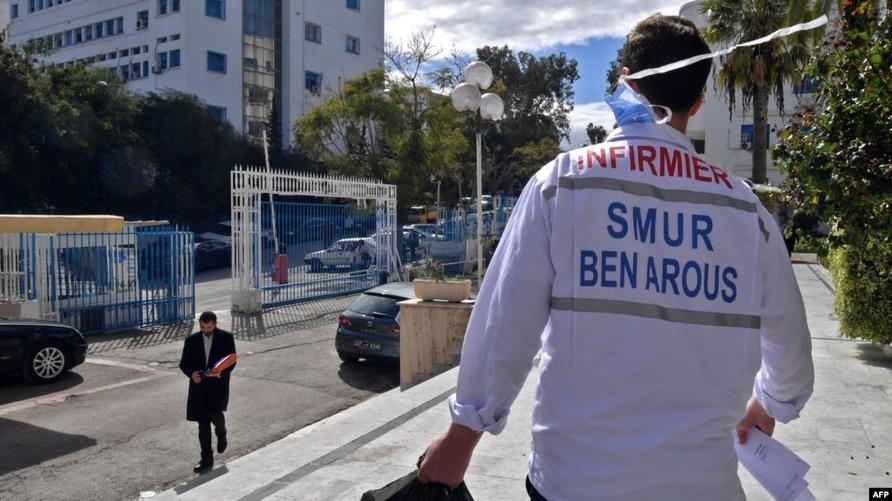 خلال الاستعدادات لمواجهة كورونا في تونس