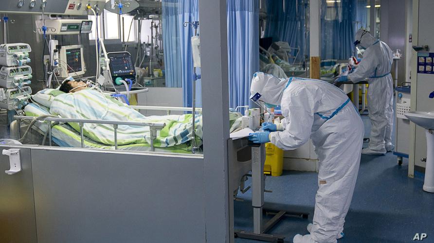 مريض بفيروس كورونا في الصين