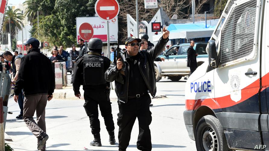 عناصر من الشرطة التونسية - أرشيف