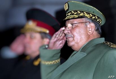 رئيس أركان الجيش الجزائري، أحمد قايد صالح