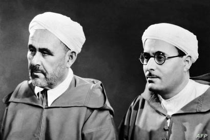 عبد الكريم الخطابي رفقة شقيقه محمد الخطابي