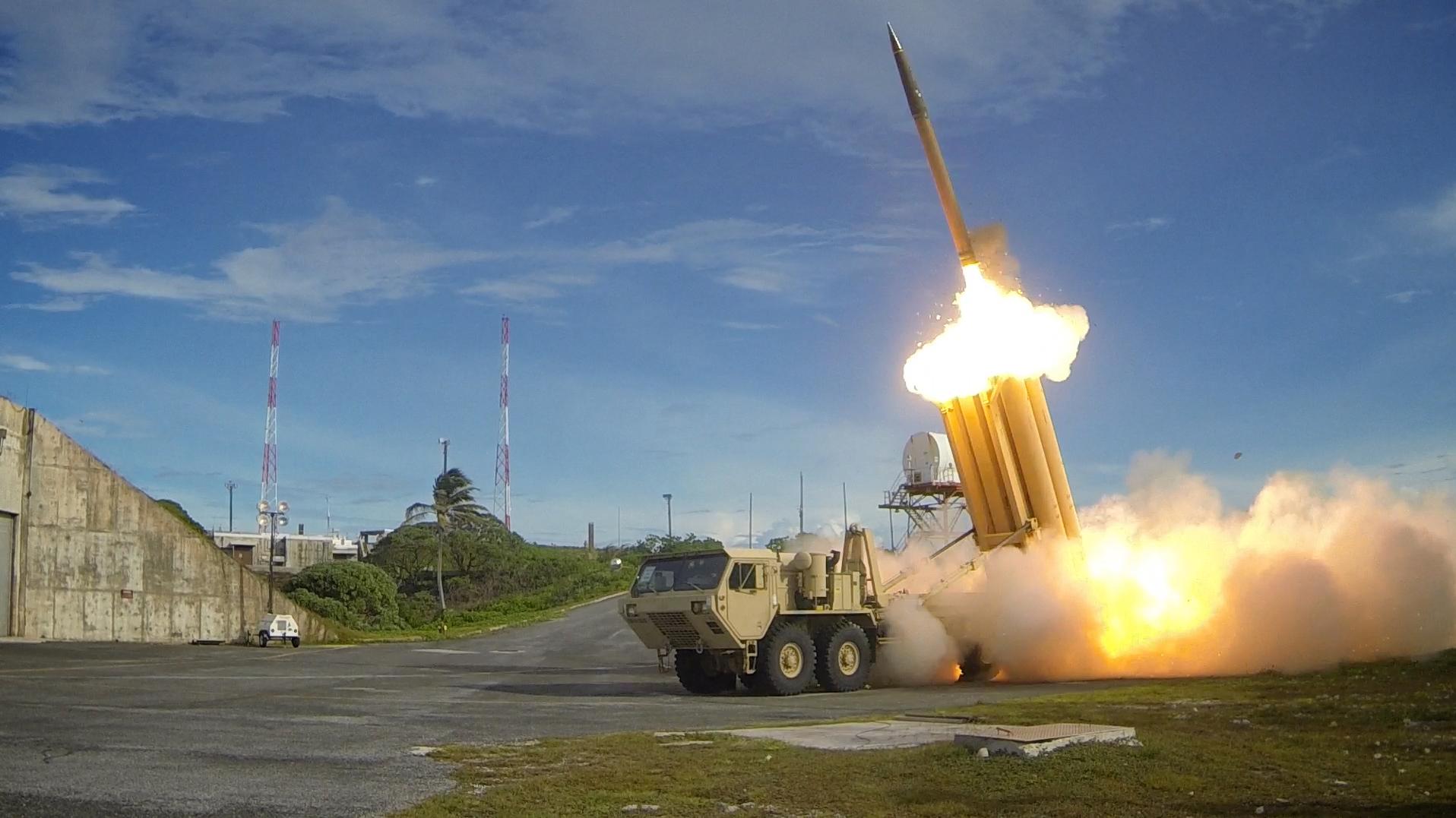 منظومة الدفاع الجوي الصاروخية الأميركية ثاد