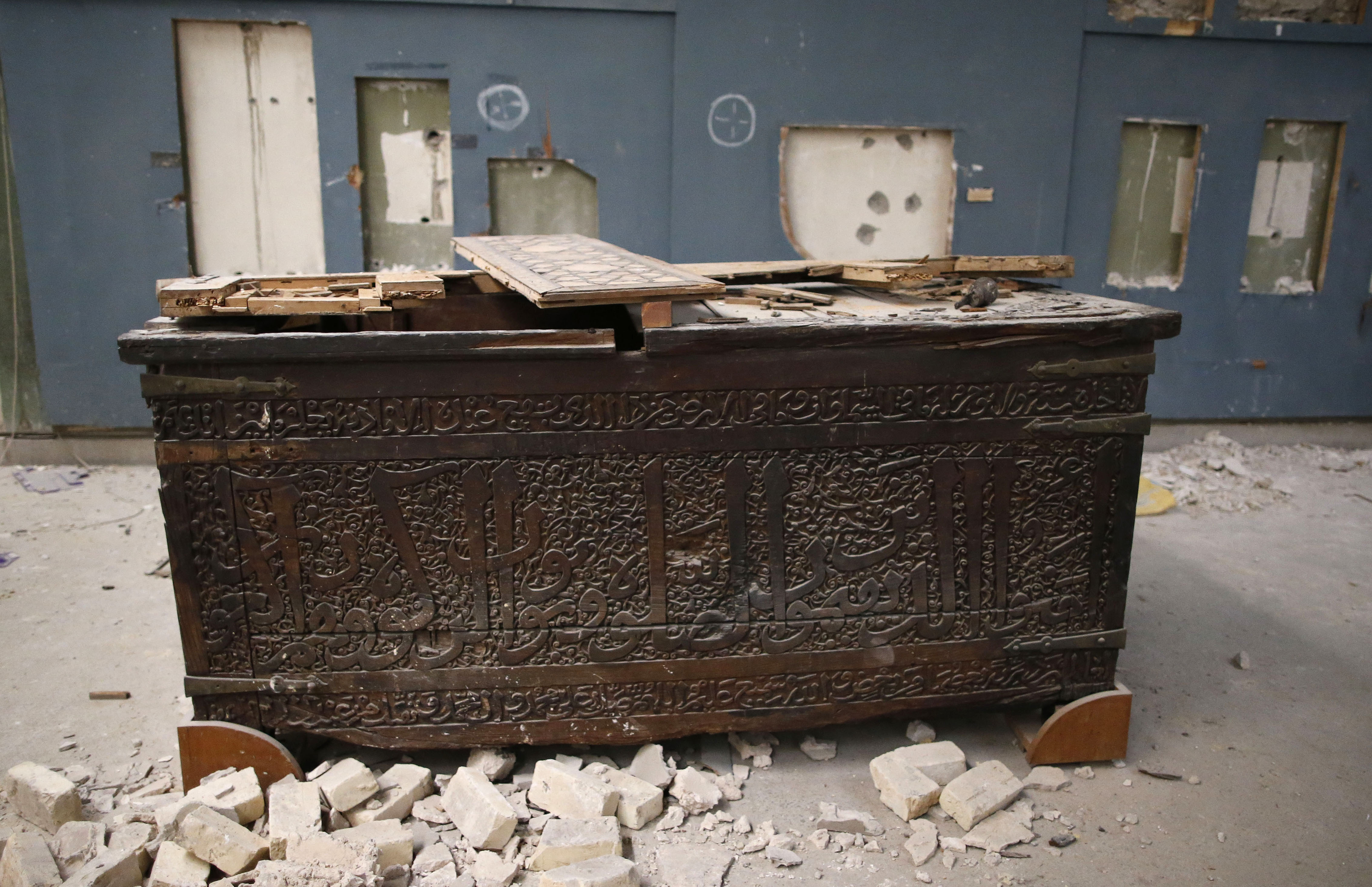 قطعة أثرية داخل متحف الموصل