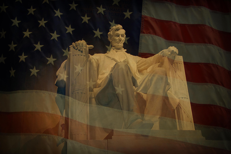 تمثال لأبراهام لنكولن