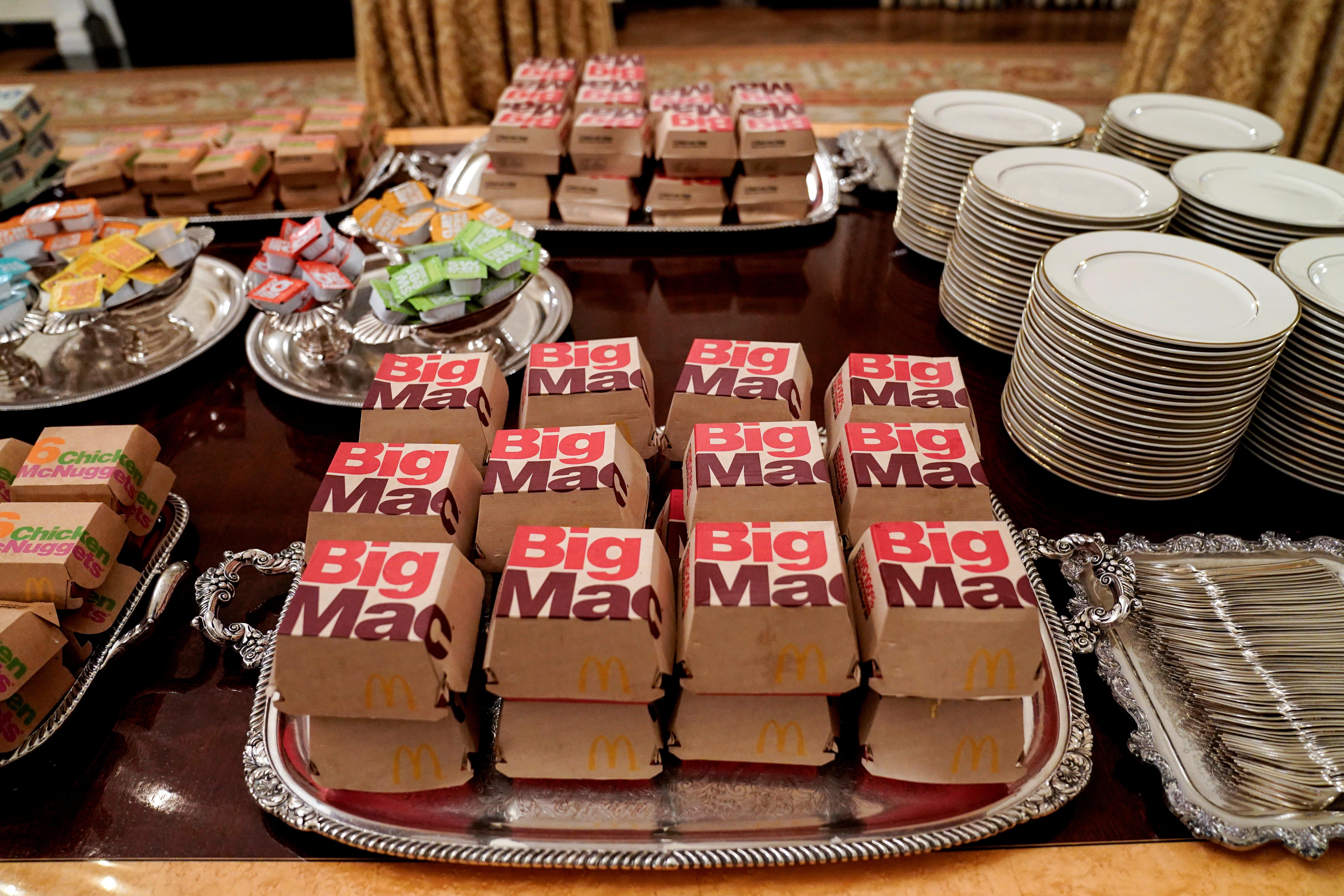 وجبات سريعة في البيت الأبيض