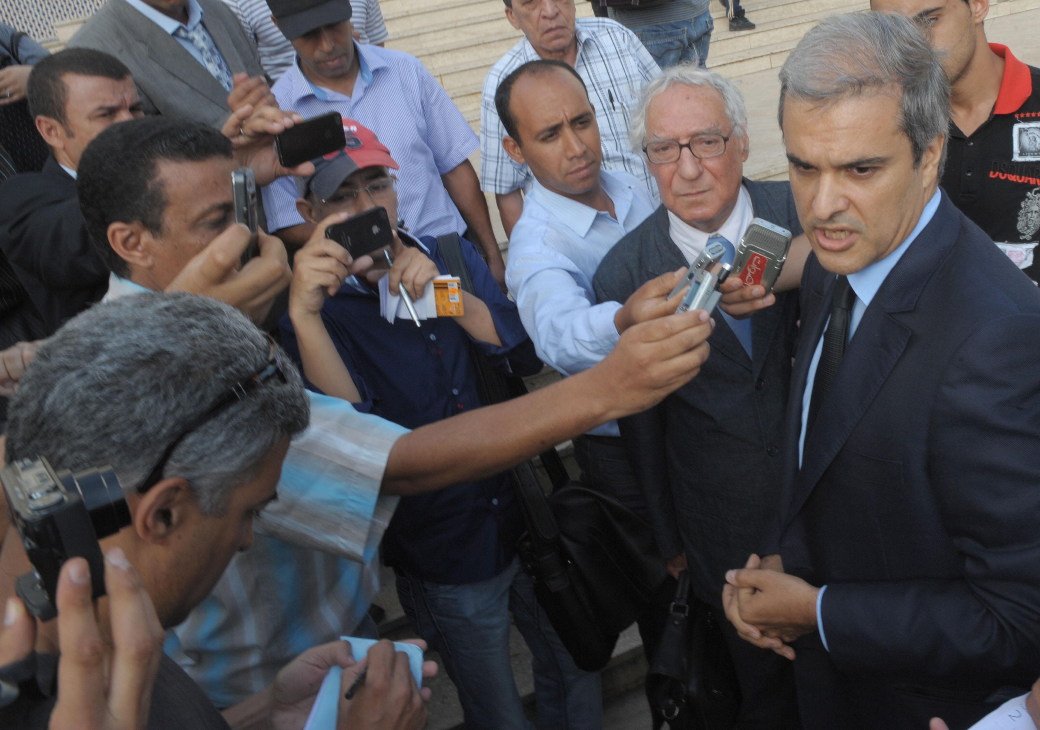 الأمير هشام العلوي يتحدث إلى الصحافة (أرشيف)