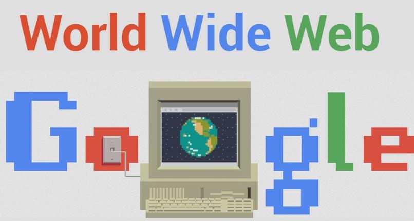 غوغل تحتفل بالذكرى الثلاثين لاختراع الويب