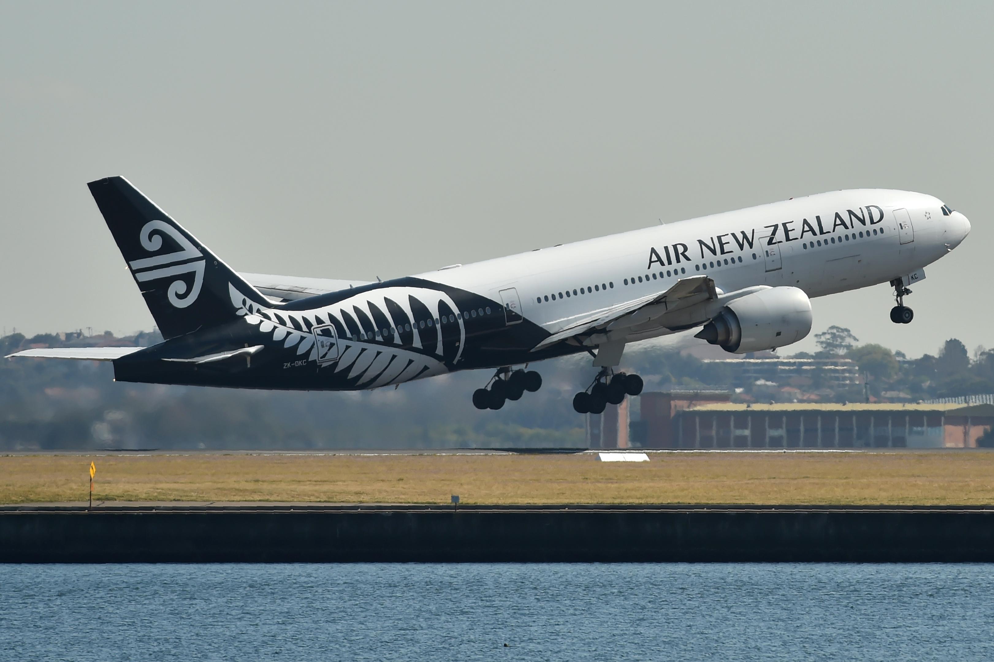 طائرة تابعة لطيران نيوزيلندا