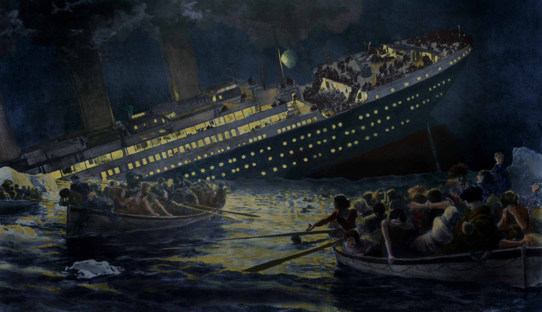 غرق التيتانيك