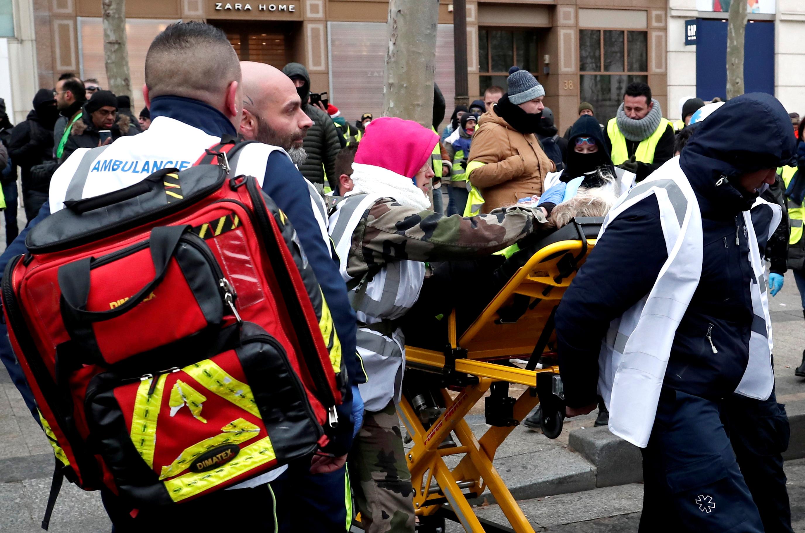 الاشتباكات أدت إلى وقوع مصابين